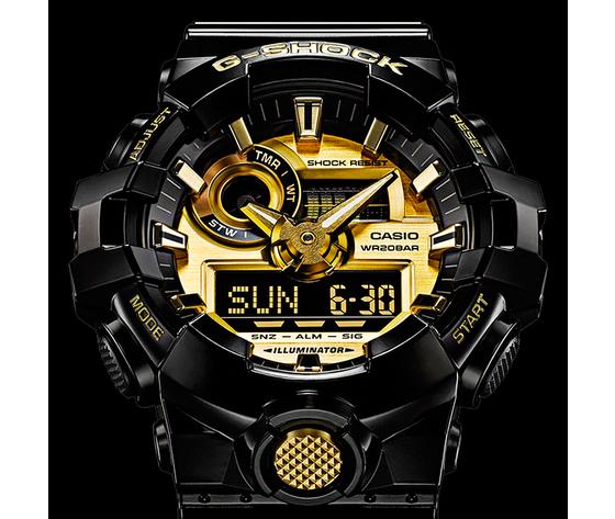 G shock streetwear garrish black ga 710gb 1aer 11725528