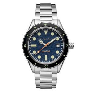OROLOGIO SPINNAKER CAHILL MID SIZE BLUE