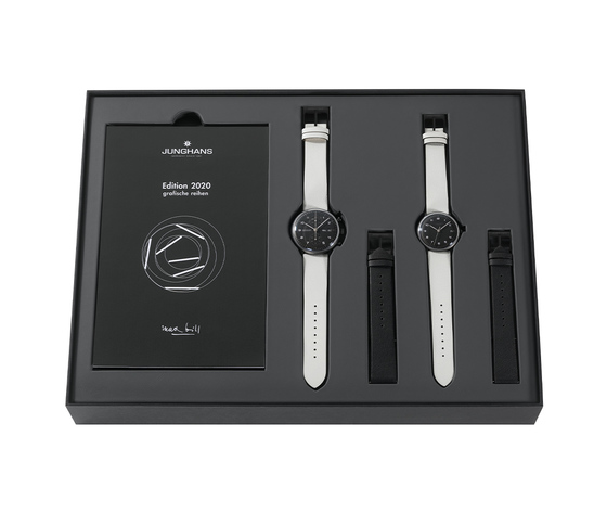 Junghans 027 4018.03 max bill edition set 2020 watch in gift box2