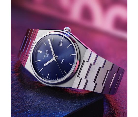 Orologio uomo tissot prx blu t1374101104100 tissot 43187 zoom