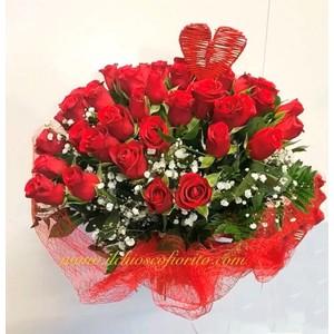 Rose rosse stelo corto da 20€ a 480€