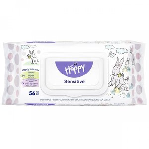 SALVIETTINE SENSITIVE HAPPY ALOE 56PZ