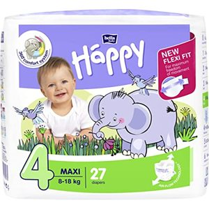 PANNOLINI BELLA BABY HAPPY 4 MAXI 27PEZZI