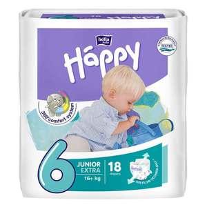 PANNOLINI BELLA BABY HAPPY JUNIOR 6 EXTRA 18 PEZZI