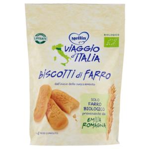 MELLIN VIAGGIO D' ITALIA BIO BISCOTTI DI FARRO 150G
