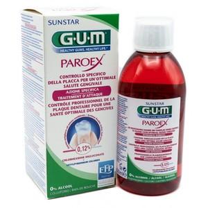 GUM PAROEX 0,12 COLLUTTORIO CLOREXIDINA 300ML