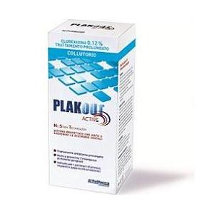 PLAKOUT ACTIVE COLLUTTORIO CLOREXIDINA 0,12% 200ML