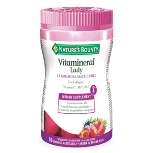 NATURE'S BOUNTY VITAMINERAL LADY  - 60 GOMMOSE