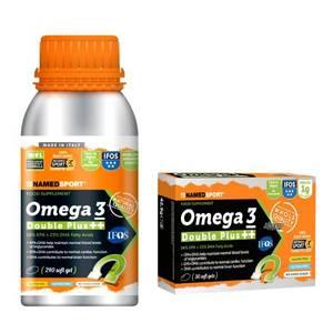 NAMED SPORT OMEGA 3 DOUBLE PLUS 240 SOFT GELS + OMEGA 3 DOUBLE PLUS 30 SOFT GELS