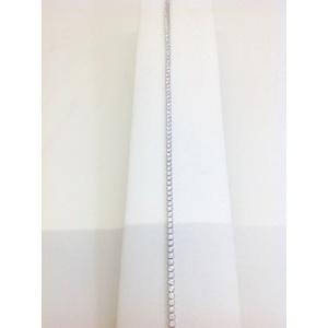 Bracciale Tennis Oro Bianco Con Zirconi Grammi 3,4