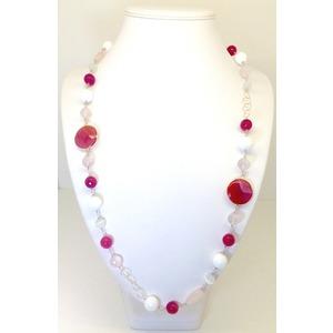 Collana Multicolor Rosa
