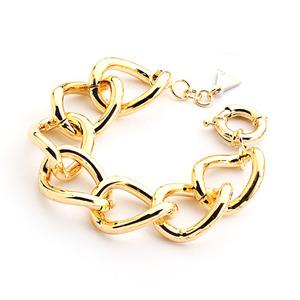 Bracciale metallo dorato
