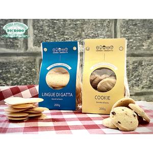Biscotti 'Banda Biscotti' Cookie al burro + Lingue di gatta