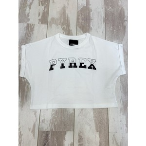 T-SHIRT MEZZA MANICA CROPPED