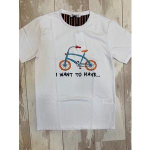 t-shirt bicibletta