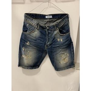 bermuda jeans scuro