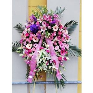Corona funebre sul Rosa