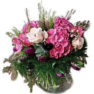 Bouquet con Ortensie