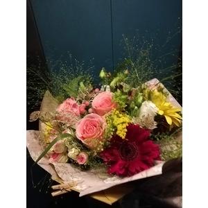 Bouquet Fiori di campo carta da pacco