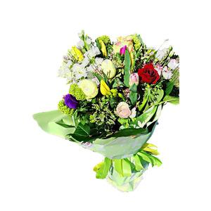 Bouquet Lilium e fiori di stagione