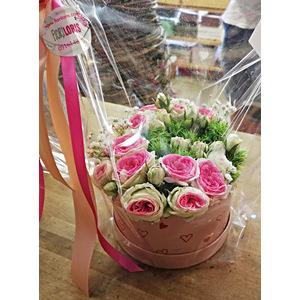 Flower box con decorazione a forma di lettera