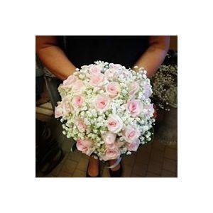 Bouquet Roselline rosa e nebbia