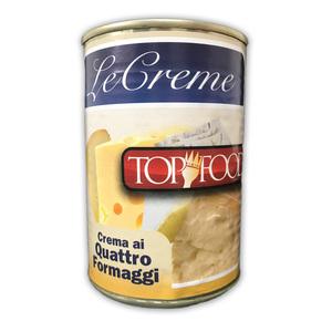 TOP FOOD CREMA AI QUATTRO FORMAGGI 400G
