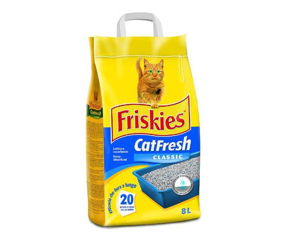 Friskies lettiera cat fresh classica 5 kg
