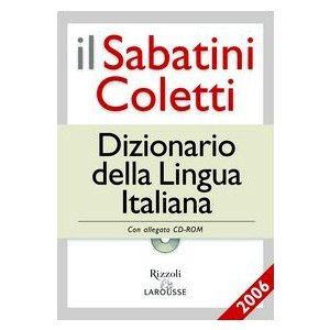 DIZIONARIO DELLA LINGUA ITALIANA + CD