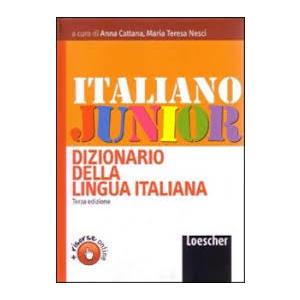 DIZIONARIO DELLA LINGUA ITALIANA - ITALIANO JUNIOR