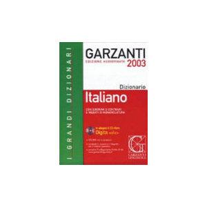 DIZIONARIO GARZANTI ITALIANO + CD