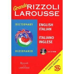 GRANDE DIZIONARIO DI INGLESE RIZZOLI LAROUSSE+CD