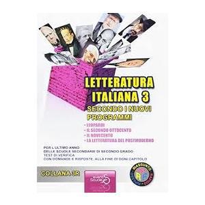LETTERATURA ITALIANA 3 SECONDO I NUOVI PROGRAMMI