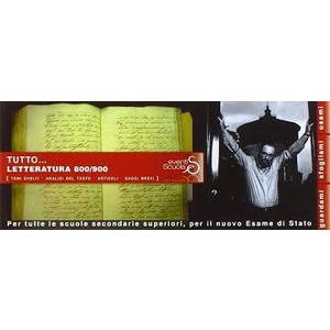 TUTTO LETTERATURA 800/900