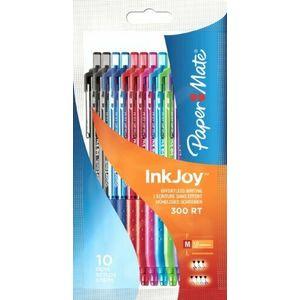 Confezione 10 Penna Inkjoy 300Rt assortiti S09 -