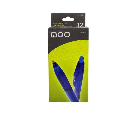 Penna cancellabile neoline tratto da 12mm blu art5621