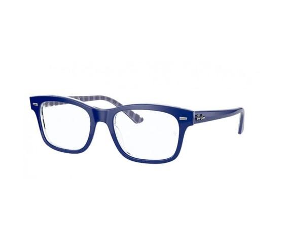 Ray ban rx 5383 8090 blue on vichy blue white 550x550w