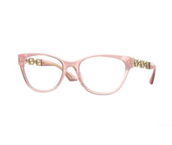 Ve3292 5322 pink transparent demo lens