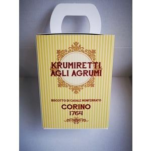 Scatola krumiretti agli agrumi confezione natale - 200 grammi