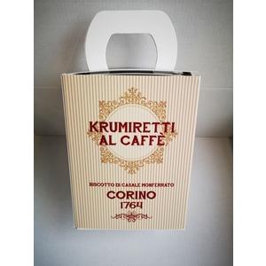 Scatola krumiretti al caffè confezione natale - 200 grammi