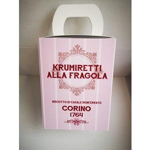 Scatola krumiretti alla fragola confezione natale - 200 grammi