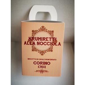 Scatola krumiretti alla nocciola confezione natale - 200 grammi