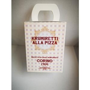 Scatola krumiretti alla pizza confezione natale - 200 grammi