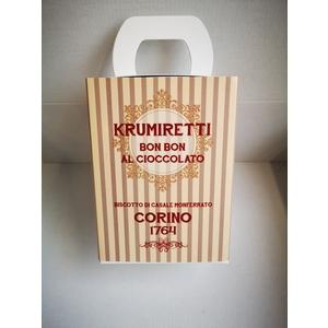 Scatola krumiretti bon bon cioccolato confezione natale - 200 grammi