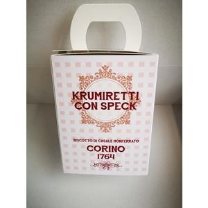 Scatola krumiretti con speck confezione natale - 200 grammi