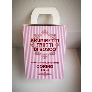 Scatola krumiretti frutti di bosco confezione natale - 200 grammi