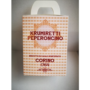 Scatola krumiretti peperoncino confezione natale - 200 grammi