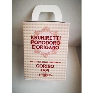 Scatola krumiretti pomodoro e origano confezione natale - 200 grammi