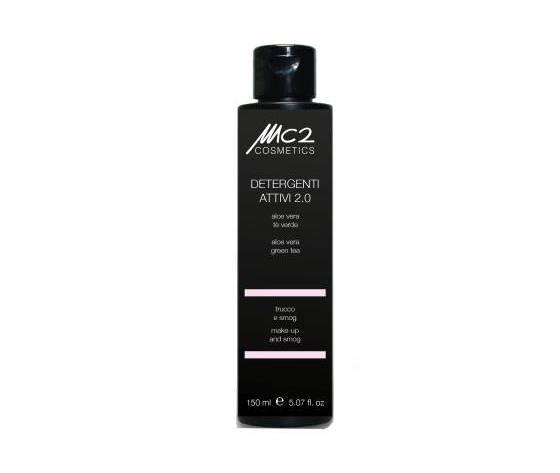 Mc2 cosmetics detergente aloe vera e te verde trucco e smog 150 ml