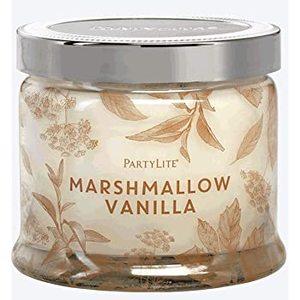 Candela tre stoppini marshmallow vanilla